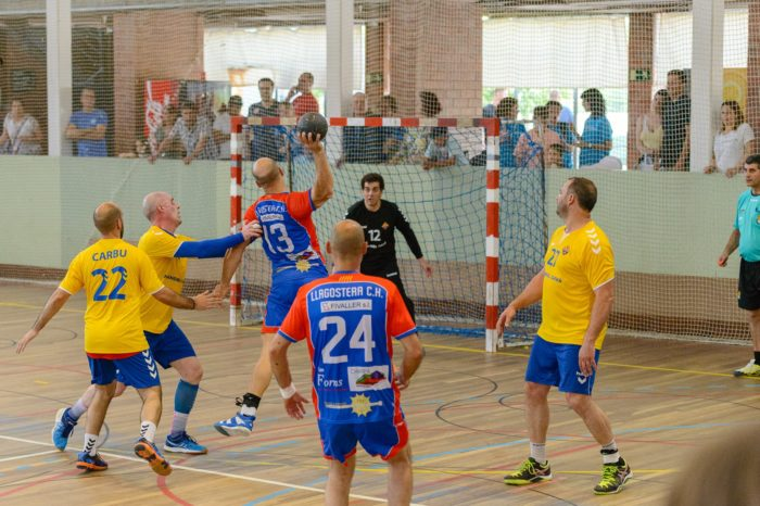 Campions de la Lliga Catalana Masters de Handbol