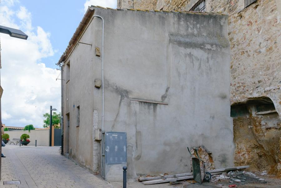 muralla obres llagostera