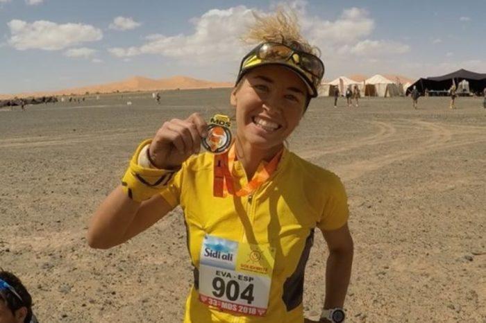 Eva Llinàs finalitza la Marathon des Sables de Marroc