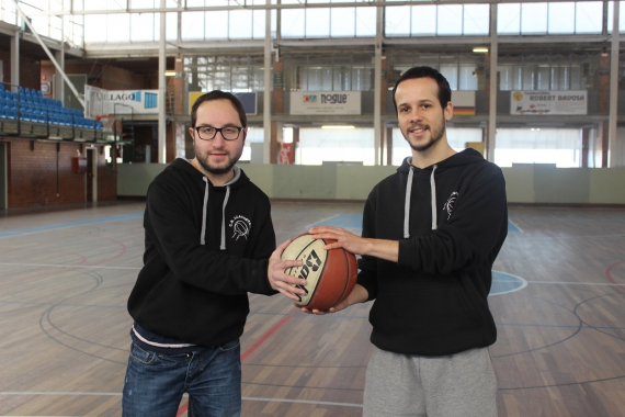 Dídac Cortés i Xavier Garcia C B Llagostera