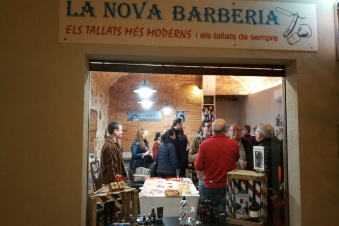 La Nova Barberia estrena local al Passeig Pompeu Fabra