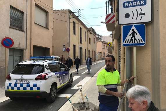 Ja es pot circular pels carrers Sant Feliu i Joan Maragall
