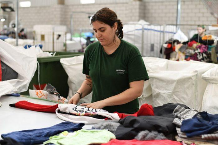 Humana recull a Llagostera 4.835 kg de roba en sis mesos