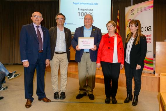 Llagostera rep el segell Infoparticipa amb el 100% dels indicadors
