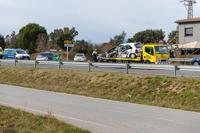 Accident de trànsit mortal a Llagostera