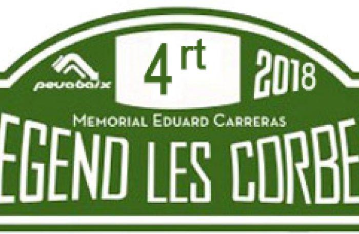 Tot a punt pel IV Ral·li Legend les Corbes Memorial Eduard Carreras