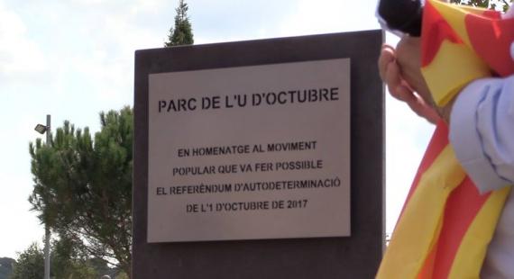 Commemoració del primer aniversari del referèndum