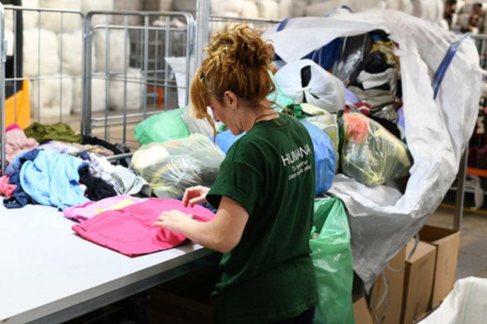 Humana recupera més de 10 tones de tèxtil usat a Llagostera