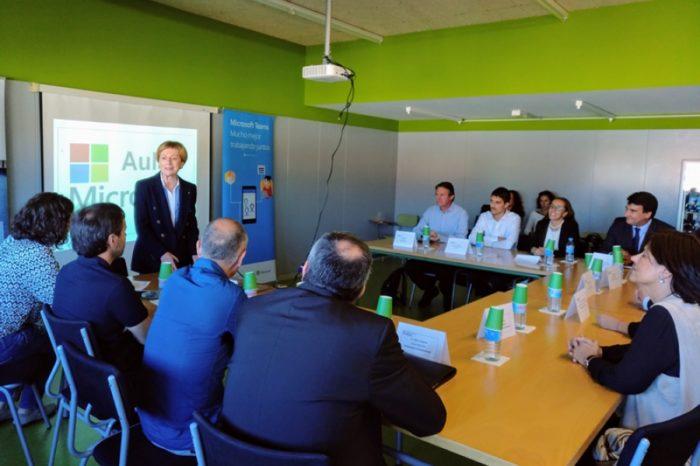 El Puig de les Cadiretes estrena la primera Aula digital Microsoft de Catalunya
