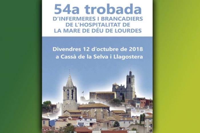 Llagostera i Cassà acolliran la trobada de l'Hospitalitat de Lourdes d'enguany
